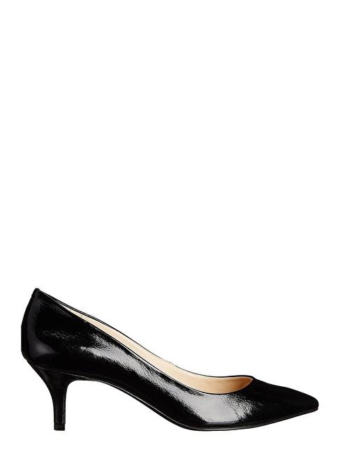 Nine West İnce Kısa Topuklu Stiletto Ayakkabı Siyah